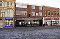 Ancient Borough Arms (1), 41 Market Place, Pontefract (geograph 5555185).jpg