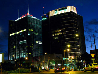 Andersia Tower - Image: Andersia Tower Poznan