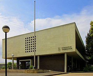 Dieter Oesterlen - Gymnasium designed by Oesterlen