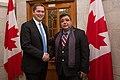 Andrew Scheer with Deepak Obhrai (35532111070).jpg
