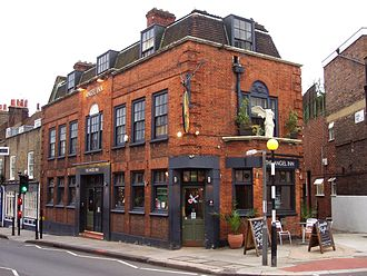 Graham Chapman - A blue plaque has been placed at The Angel, Highgate, North London, in commemoration of Chapman.