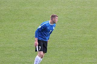 Hannes Anier Estonian footballer