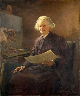 painting by Anna Klumpke (Metropolitan Museum of Art)