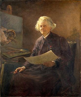 Rosa Bonheur - Portrait of Bonheur by Anna Elizabeth Klumpke