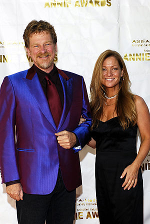Open Season (2006 film) - Roger Allers and Jill Culton, the directors of the film, at the 34th Annie Awards