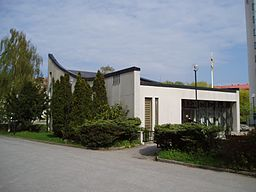 Sankt Ansgars kirke i maj 2008