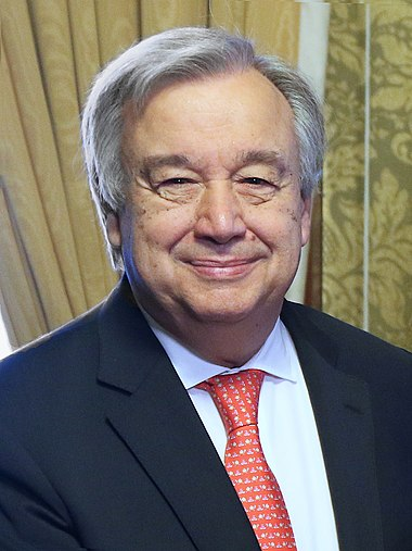 Ant%C3%B3nio Guterres in London - 2018 %2841099390345%29 %28cropped%29., From WikimediaPhotos
