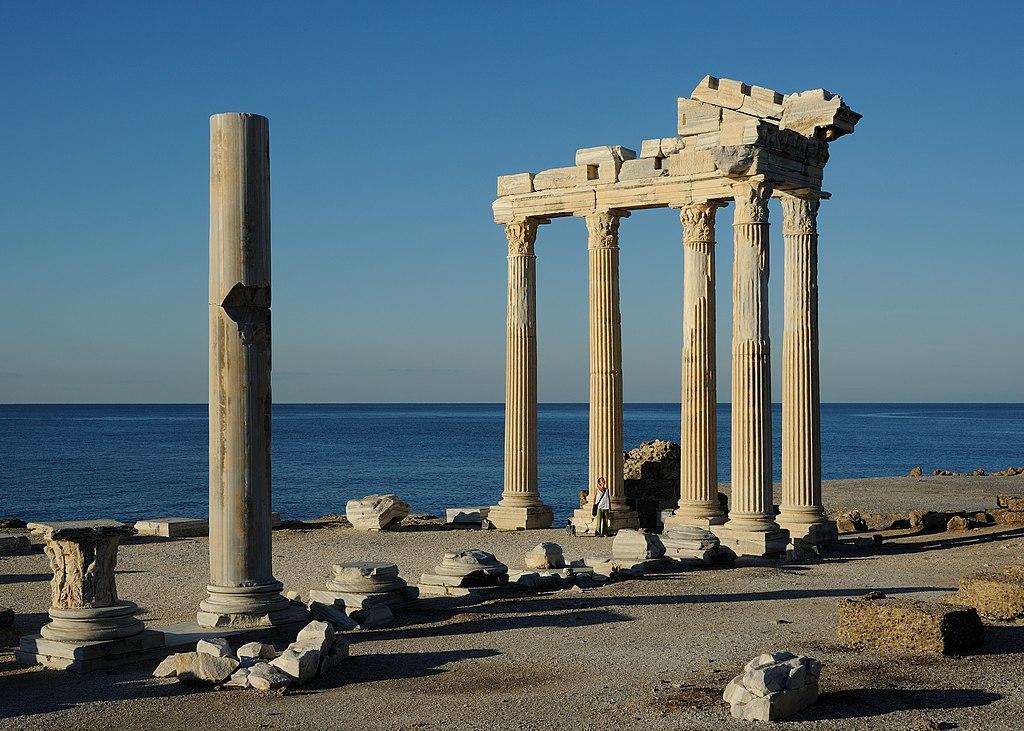 Sehenswürdigkeiten in der Türkei Antalya Side Apollo