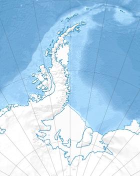 Антарктика область Антарктического полуострова