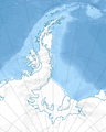 Antarctic Peninsula region relief location map.png