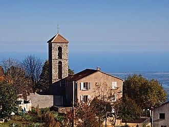 Antisanti - Image: Antisanti Mairie église