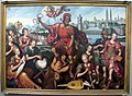 Antonius claeissens, marte attorniato dalla scienza conquista l'ignoranza, 1605.JPG