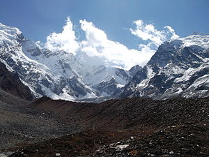 Api (mountain) - Approached from the Mahakali Khola, the southern/western aspects of Api.