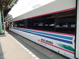Argo Bromo Anggrek passenger coach