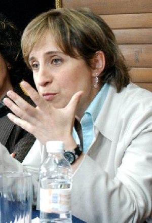 Carmen Aristegui - Image: Aristegui