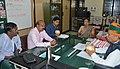 Arjun Ram Meghwal holding talks with the officials of Central Ground Water Board Kerala Region, in Thiruvananthapuram, Kerala (1).jpg