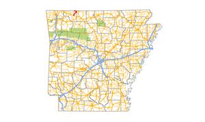 Arkansas Highway 311 - Image: Arkansas 311