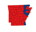 Arkansas gubernatorial election, 1998.png
