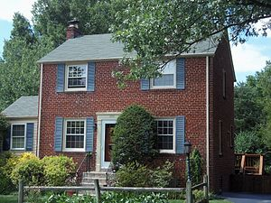 National Register of Historic Places listings in Arlington County, Virginia - Image: Arlington Forest Historic District 01