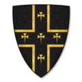 Armorial Bearings of the WALSHAM famliy of Knill Court, Herefordshire.png