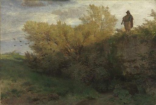Arnold Böcklin - Dudelsackpfeifer - 9471 - Bavarian State Painting Collections