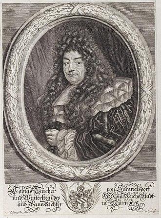 Tucher von Simmelsdorf - Tobias Tucher, judge in Nurmberg