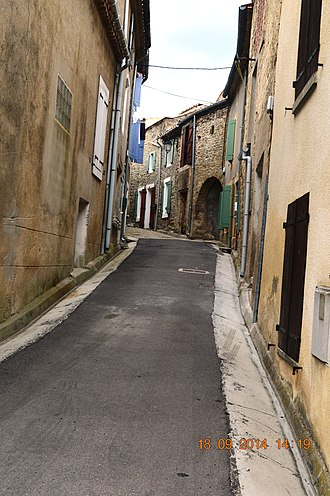 Arquettes-en-Val - A Street in Arquettes-en-Val