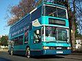 Arriva Yorkshire DAF DB250 Optare Spectra (707, YG52 CFF) (11571175163).jpg