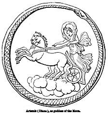 Artemis (Diana), as goddess of the Moon. - Engravings on Wood.jpg