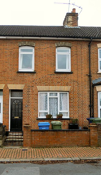 Arthur English - The house where English was born in 1919