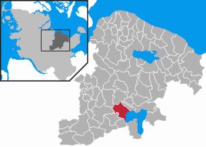 Ascheberg, Schleswig-Holstein - Image: Ascheberg in PLOE