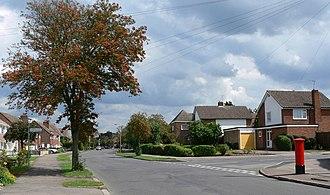 Oadby and Wigston - Ash Tree Road in Oadby