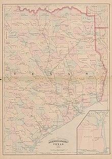 photograph regarding Printable Map of Houston called Houston Faucet and Brazoria Railway - Wikipedia