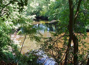 Assabet River - The Assabet River near Route 2, Concord, Massachusetts