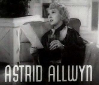 Astrid Allwyn - from the trailer for Follow the Fleet (1936)