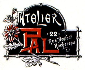 Jean de Paleologu - Logo of the Atelier PAL