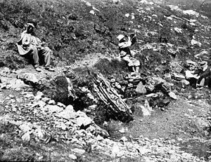Aulus-les-Bains - The Col de Saleich in 1882