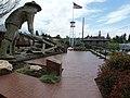 Auburn, CA, Transcontinental Railroad Commemorative Plaza, 2012 - panoramio.jpg