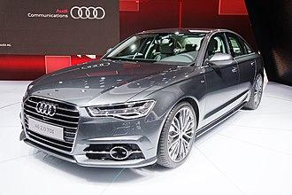 E-segment - Image: Audi A6 Mondial de l'Automobile de Paris 2014 002