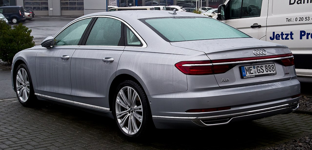 File:Audi A8 50 TDI (D5) – Heckansicht, 24. Dezember 2017 ...