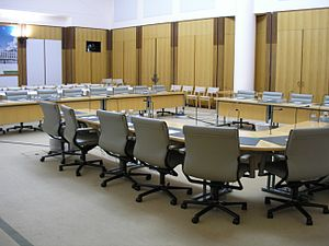 Australian House of Representatives committees - House of Representatives committee room, Parliament House, Canberra
