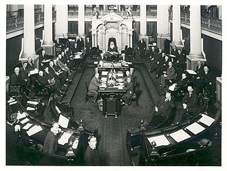 Australian Senate - The Australian Senate in 1923