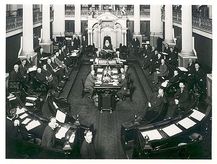 The Australian Senate in 1923 Australian Senate 1923.jpg