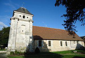 Autheuil-Authouillet - Image: Autheuil Authouillet Eglise Saint André X Ve, XV Ie & XVI Ie (MH)