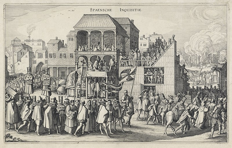 Rounding up and Burning of the Histomantists Spain 1583