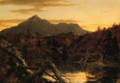 Autumn Twilight, View of Conway Peak (Mount Chocorua), New Hampshire.png
