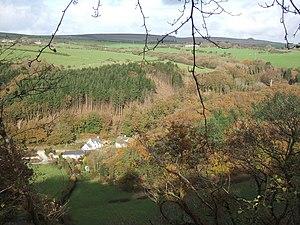 Cwm Gwaun - Image: Autumnal view, Cwm Gwaun geograph.org.uk 277896