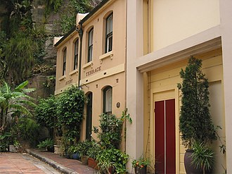 Avery Terrace - Avery Terrace, pictured in 2009
