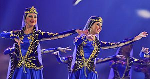Azerbaijani dances - Female dance