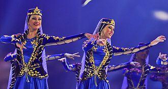 Azerbaijani dances - Female dance